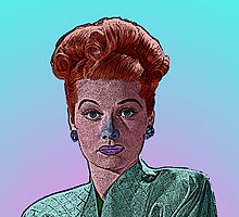 Lucille Ball Culture Cloth Zinc Collection by CultureCloth