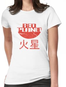 Red Planet Womens Fitted T-Shirt
