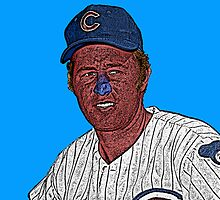 Ron Santo Chicago Cubs Culture Cloth Zinc Collection by CultureCloth