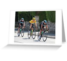 Sky Train - Tour de France 2012 Greeting Card
