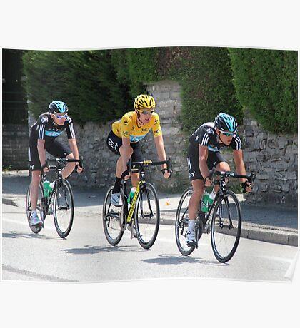 Sky Train - Tour de France 2012 Poster