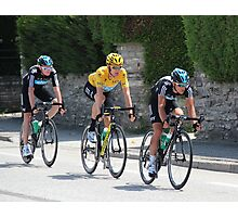 Sky Train - Tour de France 2012 Photographic Print