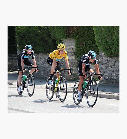 Sky Train - Tour de France 2012 Photographic Print