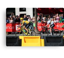 Tour de France 2012 - Wiggo & Cav in Paris Canvas Print