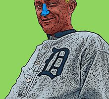 Ty Cobb Detroit Tigers Culture Cloth Zinc Collection by CultureCloth