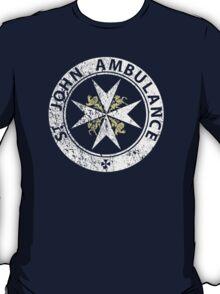 St. John Ambulance, distressed T-Shirt