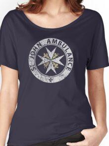 St. John Ambulance, distressed Women's Relaxed Fit T-Shirt