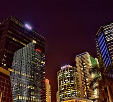 Miami Nights - Brickell I by Terry Neves