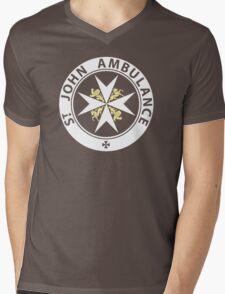 St. John Ambulance Brigade Mens V-Neck T-Shirt