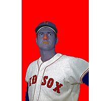 Carl Yastrzemski Boston Red Sox Culture Cloth Zinc Collection Photographic Print