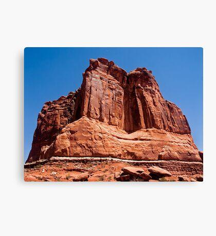 The Organ, Arches National Park near Moab, Utah Canvas Print
