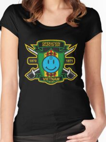 Watchmen - Nam Patch (embroidered) v2 Women's Fitted Scoop T-Shirt