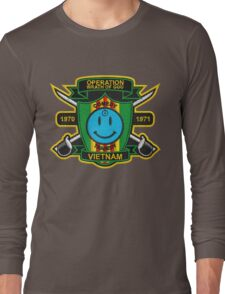 Watchmen - Nam Patch (embroidered) v2 Long Sleeve T-Shirt