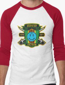 Watchmen - Nam Patch (embroidered) v2 Men's Baseball ¾ T-Shirt