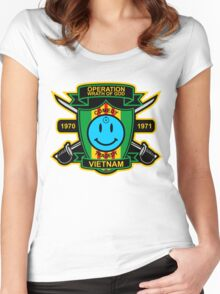 Watchmen - Nam Patch Women's Fitted Scoop T-Shirt
