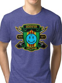Watchmen - Nam Patch Tri-blend T-Shirt