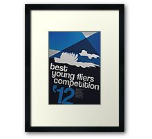 Best Young Fliers Competition [MLP] Framed Print