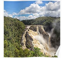 Barron Falls after a tropical storm Poster