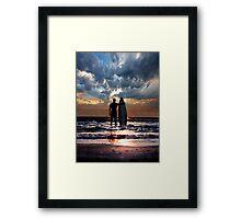 Soul, Sea and Surf! Framed Print