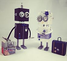 Robot Wedding by sheleen