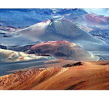 Haleakala Volcano Photographic Print