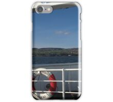 From the Foyle Ferry, Ireland iPhone Case/Skin