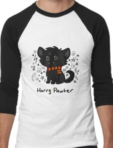 Harry Pawter Men's Baseball ¾ T-Shirt