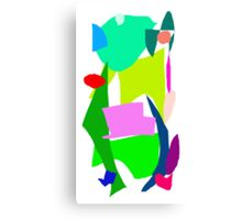 Frog Jumping High Sky Rainy Season Hot Canvas Print