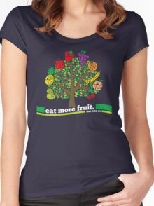 Eat More Fruit Women's Fitted Scoop T-Shirt