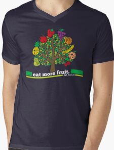 Eat More Fruit Mens V-Neck T-Shirt