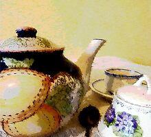 Tea with Grandma by SuzeM