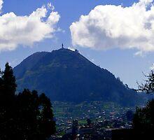 Mountaintop Virgin by Al Bourassa
