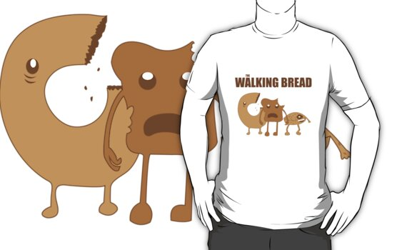 The Walking Bread by jessesandin