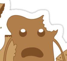 The Walking Bread Sticker