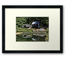 Quiet Once Again Framed Print