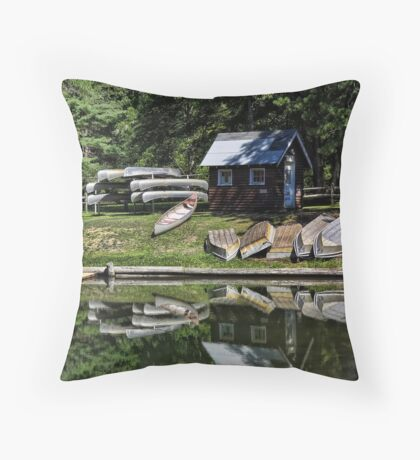 Quiet Once Again Throw Pillow