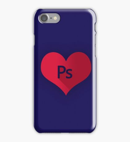Photoshop (PS I Love you) iPhone Case/Skin