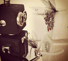 Robot Wedding by sheleen
