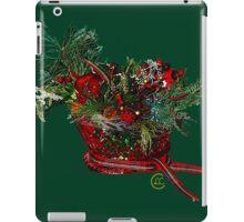 """""""Holiday Crystal Sleighs""""© iPad Case/Skin"""