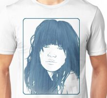 Carly Rae Jepsen Illustration - Blue Unisex T-Shirt