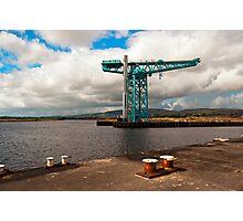 Titan Crane Photographic Print