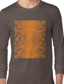 Branches - Orange Long Sleeve T-Shirt