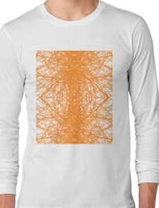 Branches - Orange Long Sleeve T-Shirt