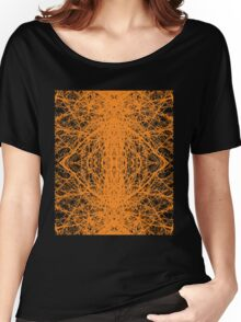 Branches - Orange Women's Relaxed Fit T-Shirt