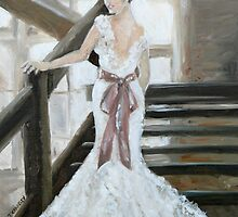 Girl in White Dress 2012 by Jewel  Charsley