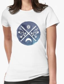 child of light symbol Womens Fitted T-Shirt