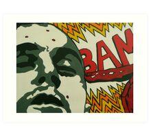 Travis Bickle - Taxi Driver Art Print