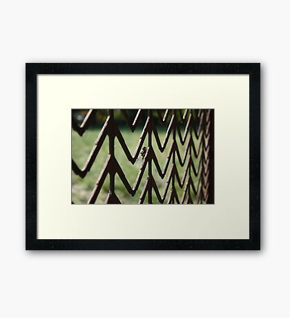 """"""" Insect Gateway Framed Print"""