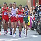 Mens Olympic Marathon - London 2012 by Colin J Williams Photography