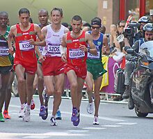 Mens Olympic Marathon - London 2012 by Colin  Williams Photography